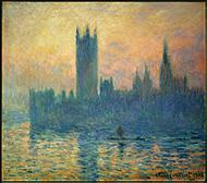 House of Parliament, Sunset by Claude Monet.